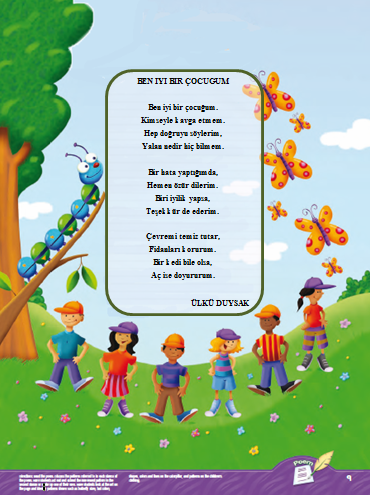 Akilli Bidiklar Okul öncesi Eğitimi şiirler