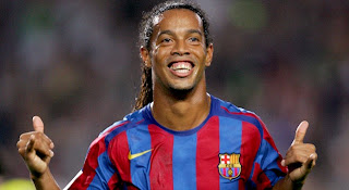 Ronaldinho barcelona real madrid