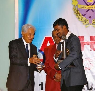 S Kumar Pemain Hoki Terbaik Asia 2010