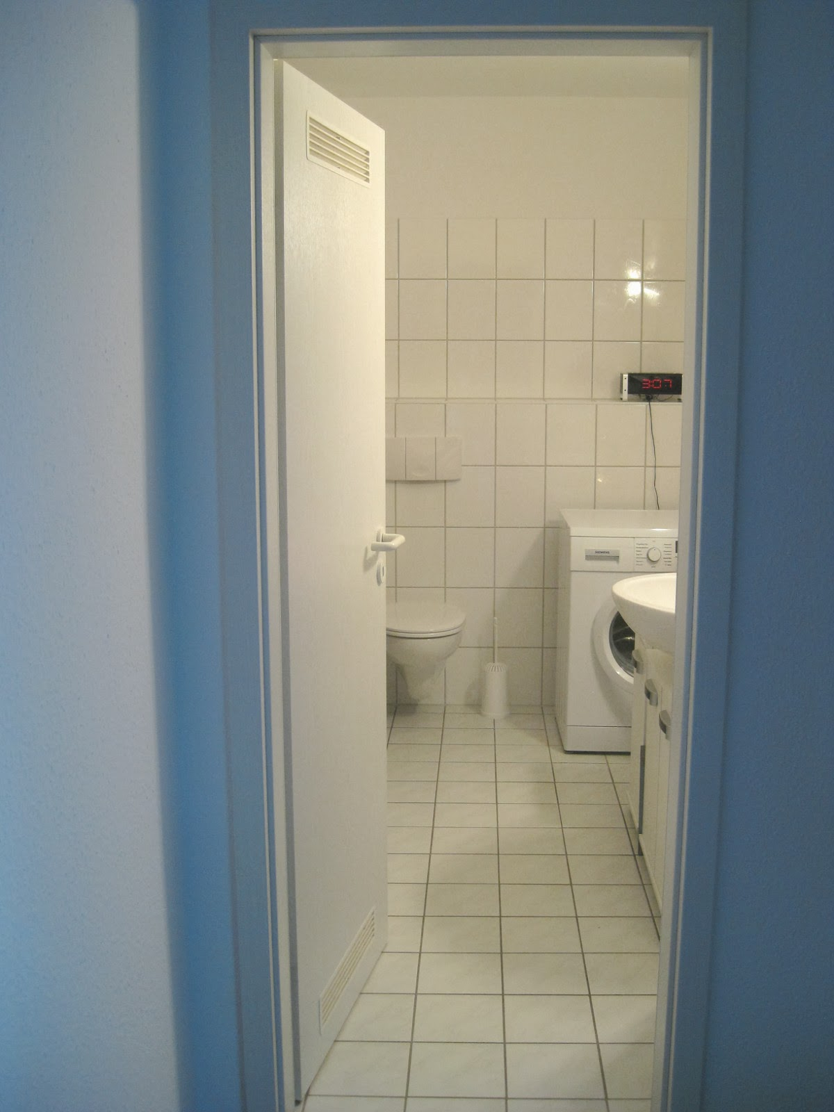 The good thing about German bathrooms  is that they tend to be larger than  their American counterparts  If I compare our bathroom now to the one I had  in my. Welcome to Germerica  German Apartment Tour  Bathroom