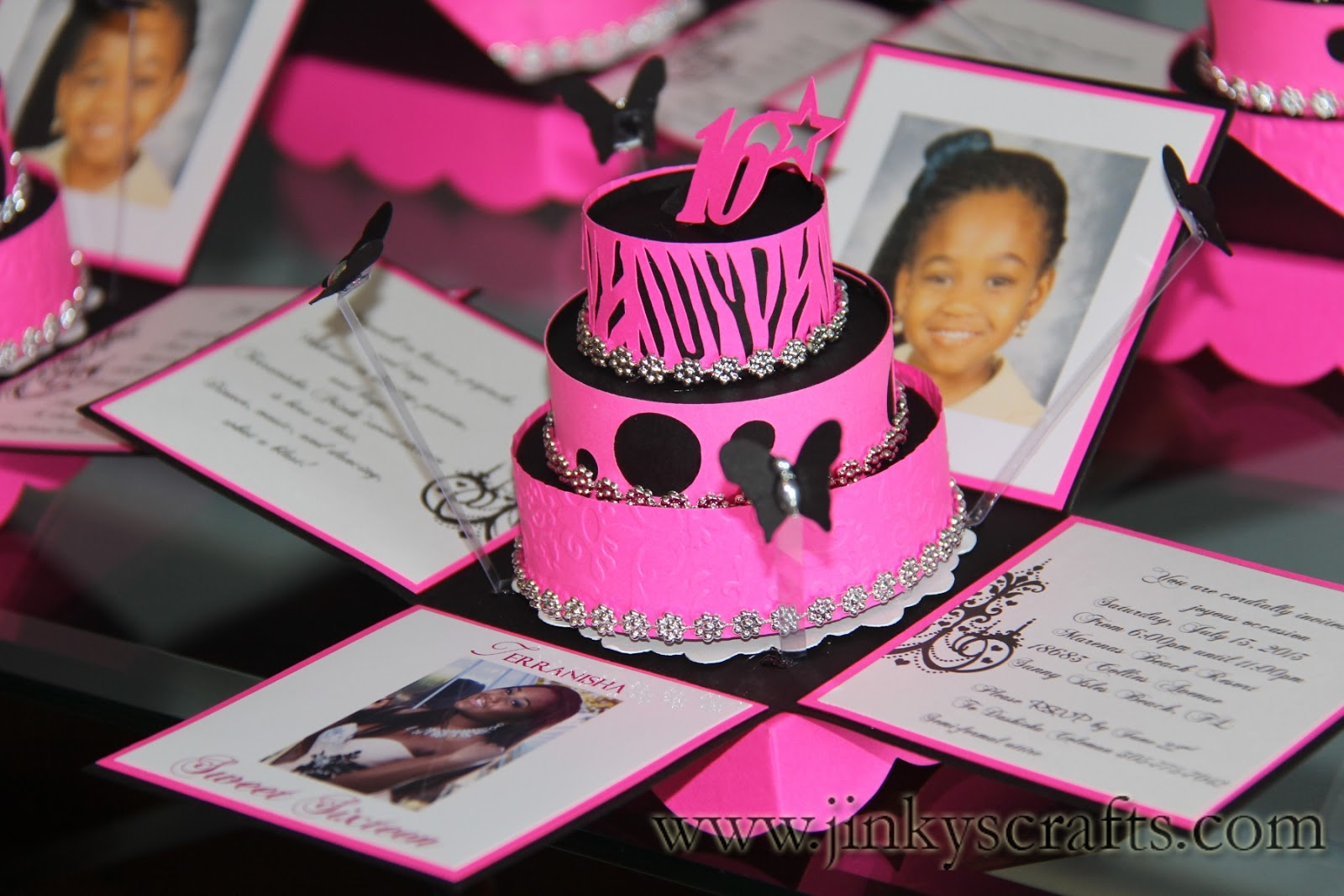 Ideas For Invitations : Jinky s crafts designs may