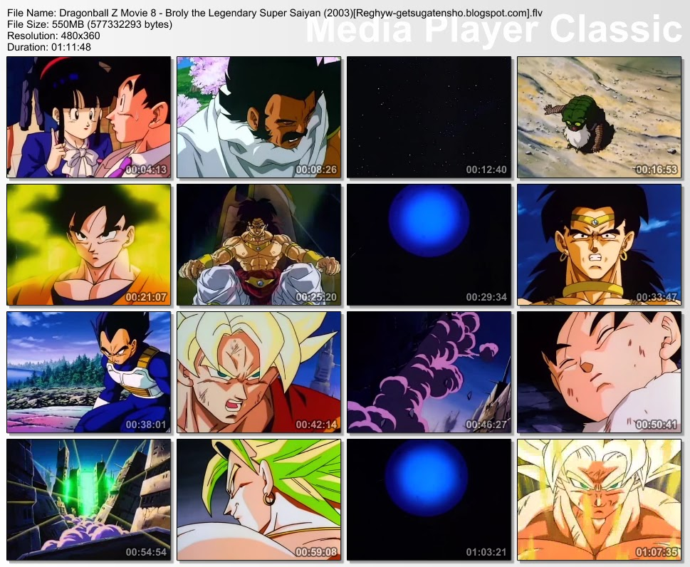 FREE GAMES PC HERE MovieDragonbal Z Movie 8 Broly The Legendary