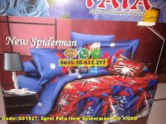 Harga Sprei Fata New Spiderman 120 X 200 Jual