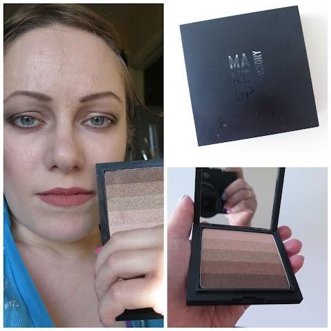 Make up factory Diamond Stripes No.20 Faded Bronze - nerealiai gražūs akių šešėliai