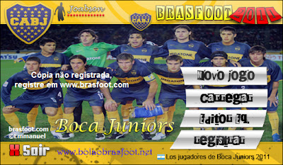 Skin Boca Juniors Brasfoot 2011