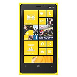 Nokia Lumia 920 Yellow Wp 8 smartphone