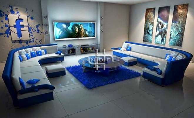 Modern Tv Lounge Designs And Settings Pakistan Snipping