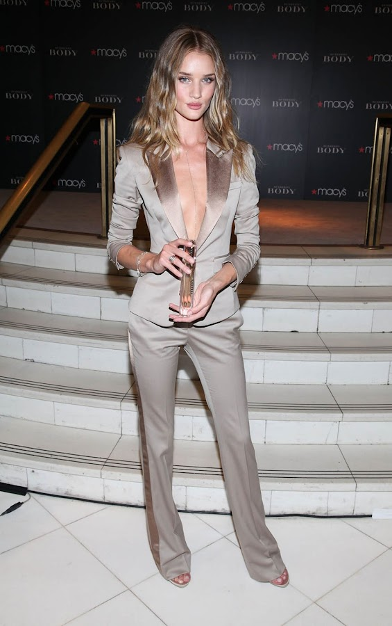 5 Rosie Huntington Whiteley Looks Hot in Beautiful Dress