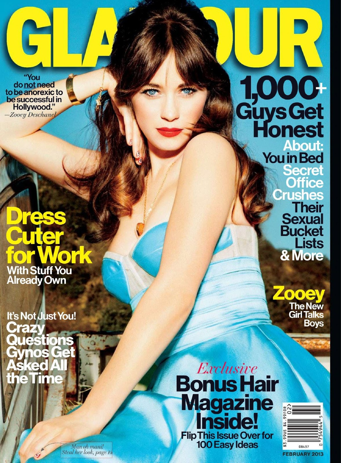 Download Glamour Magazine February 2013 Free Simply Fashion Blog