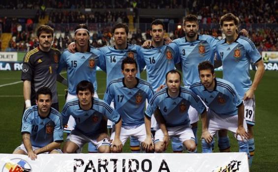 Squad Timnas Spanyol Euro 2012