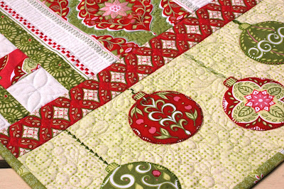 the Bernina table embellished with the stitches patterns runner embroidery embroidery piecing on   780