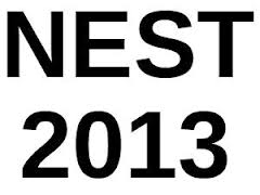 NEST 2013 Online Application Form