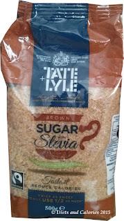 Brown sugar with stevia - tate & lyle