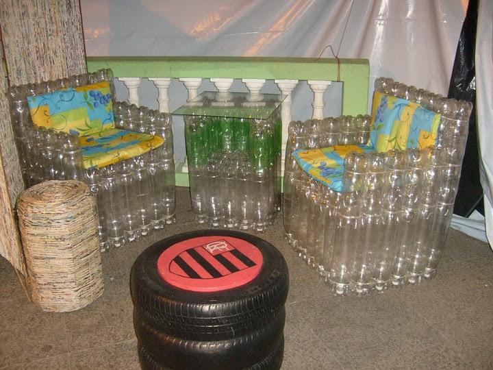 Поделки для гаража из пластиковых бутылок 97