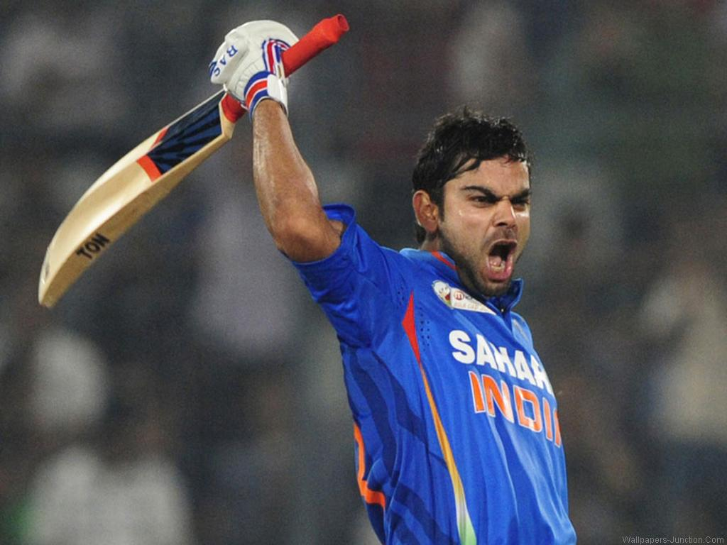 Virat Kohli Century Wallpaper - Sports Competition March 2015