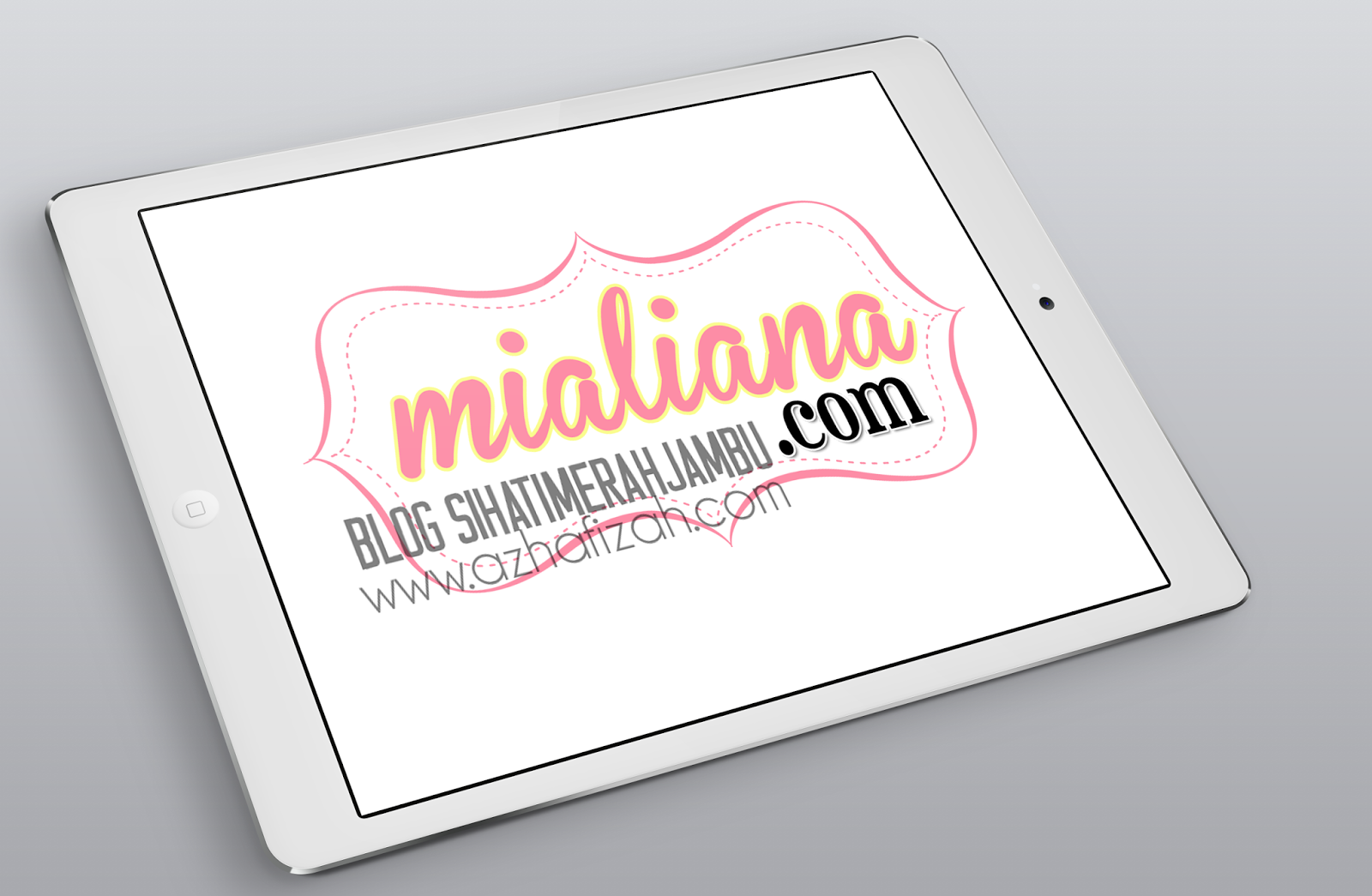 Design Watermark Blogger Mialiana com