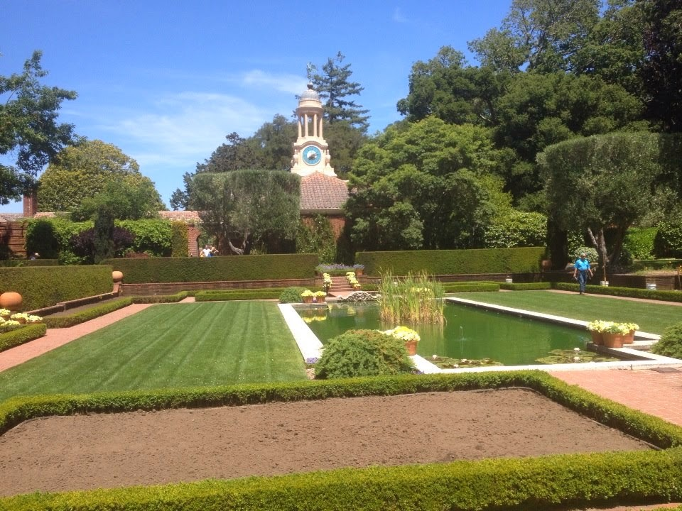 Brandy spears floral designer filoli mansion and for Filoli garden pool