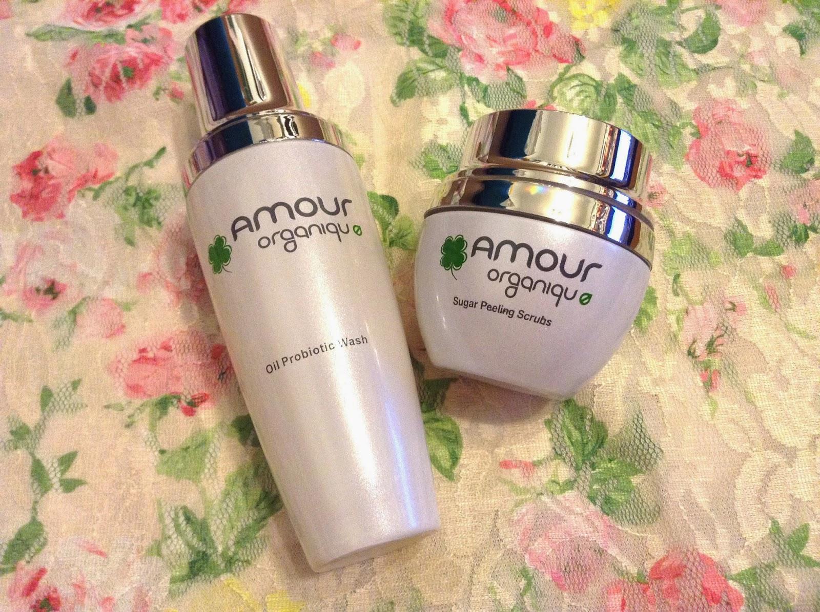 >> 清潔柔滑到嘩嘩聲*Amour Organique 淨化潔面油(Oil Probiotic Wash)﹠玫瑰水晶糖磨沙(Sugar Peeling Scrubs)+ 10個體驗名額
