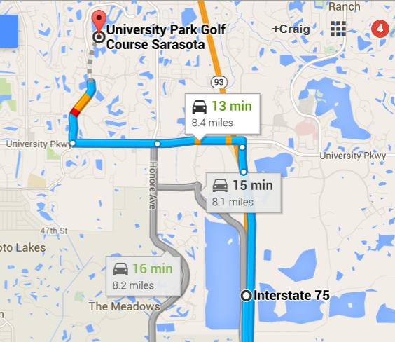 https://www.google.com/maps/dir/Interstate+75,+Fruitville,+FL/University+Park+Golf+Course+Sarasota,+7671+The+Park+Boulevard,+Bradenton,+FL+34201/@27.3740565,-82.4867935,13z/data=!4m13!4m12!1m5!1m1!1s0x885a4fce98747d97:0xf08864ac69e53afa!2m2!1d-82.4467851!2d27.3635659!1m5!1m1!1s0x88c3392b4b475663:0x803bca5113649a2f!2m2!1d-82.47385!2d27.405755
