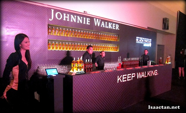 Johnnie Walker Black Circuit Lounge 2012