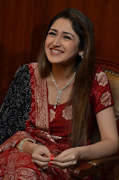 Sayesha Saigal Looks Beautiful in Red Salwar Suit WOW Cute Beauty HQ Pics