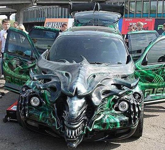 Modifikasi Mobil Yang Unic dan Lucu