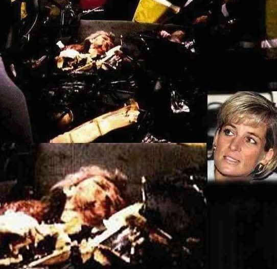 princess diana car crash pictures. princess diana car crash