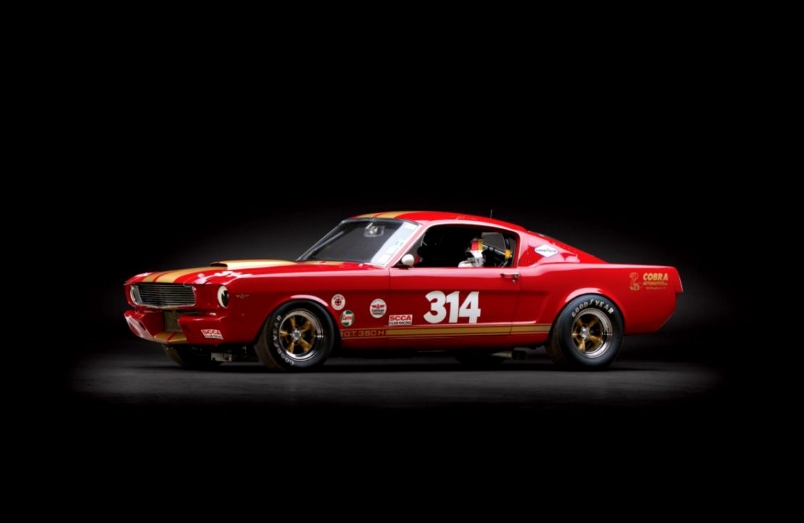 1966 Shelby Mustang GT350H Race Car   Silodrome