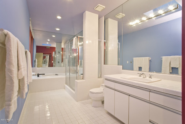 Large white bathroom