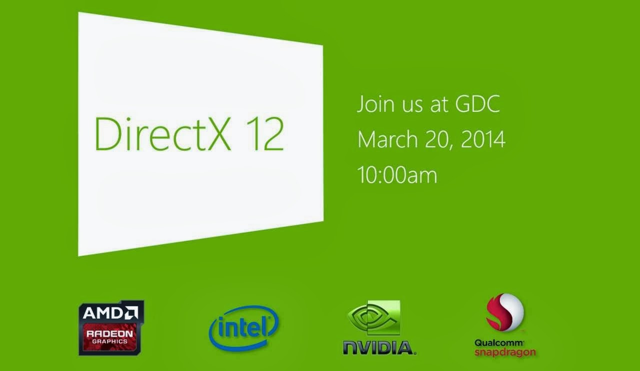 DirectX 12 Geliyor