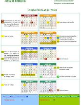 Calendario Escolar 17/18