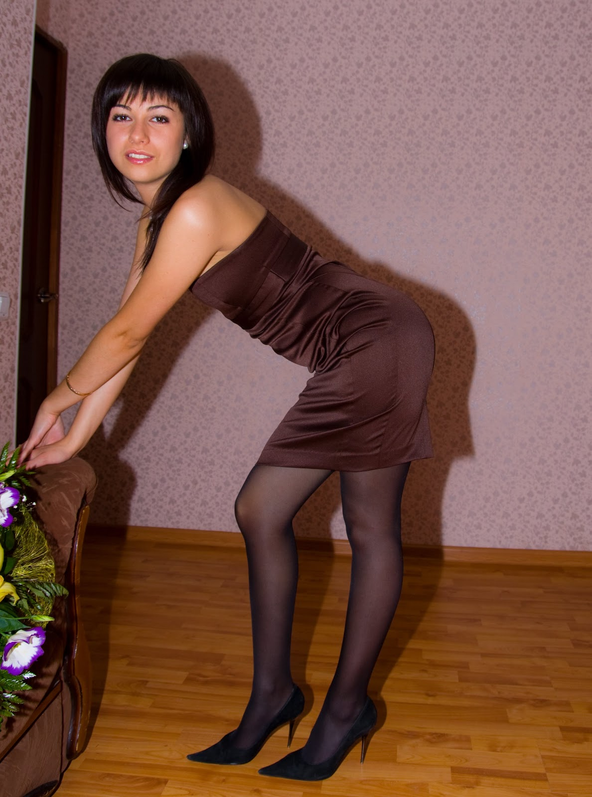 Girls live in pantyhose here bondage