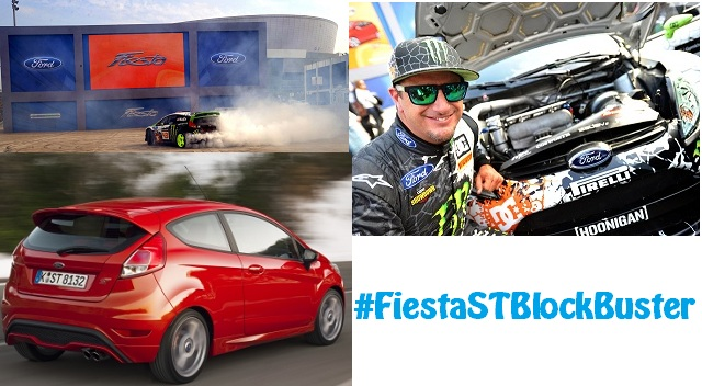 Ken Block and the new Ford Fiesta ST featuring FiestaSTBlockBuster Challenge