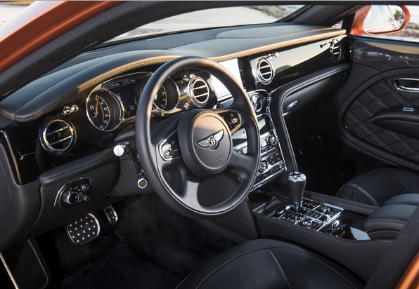2016 Bentley Mulsanne Interior