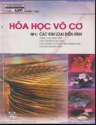 Ebook Hóa học Vô cơ: Các kim koại điển hình