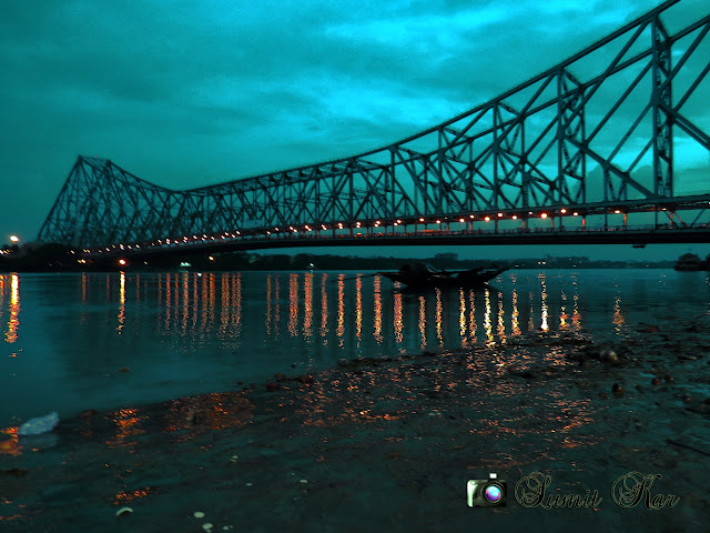 Ganges at night, Howrah Bridge, Night Kolkata, Rabindra Setu