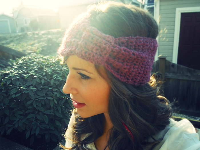 Crocheting A Headband : How To Crochet Headbands - All For Crochet