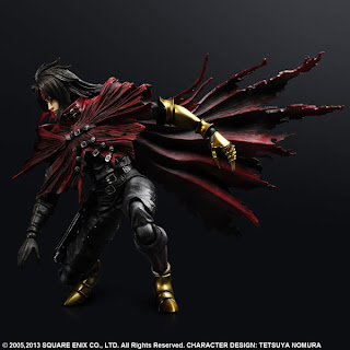 Play Arts Kai Final Fantasy VII Vincent Valentine Figure