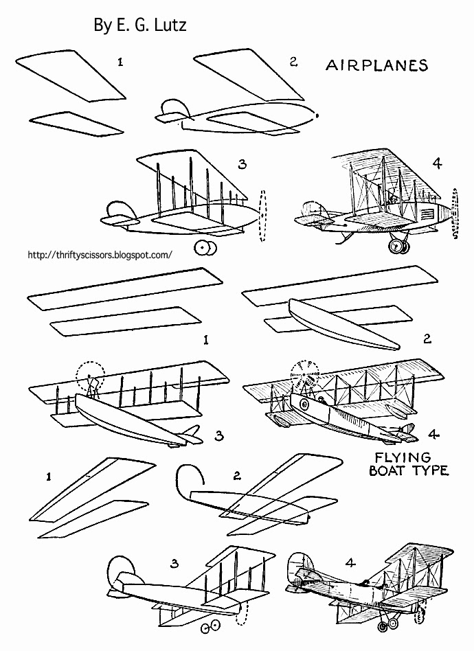 Coloring Pages Old Airplanes : Old fashioned airplane coloring pages to print out