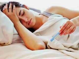 cewek sakit tifus tipes tipus