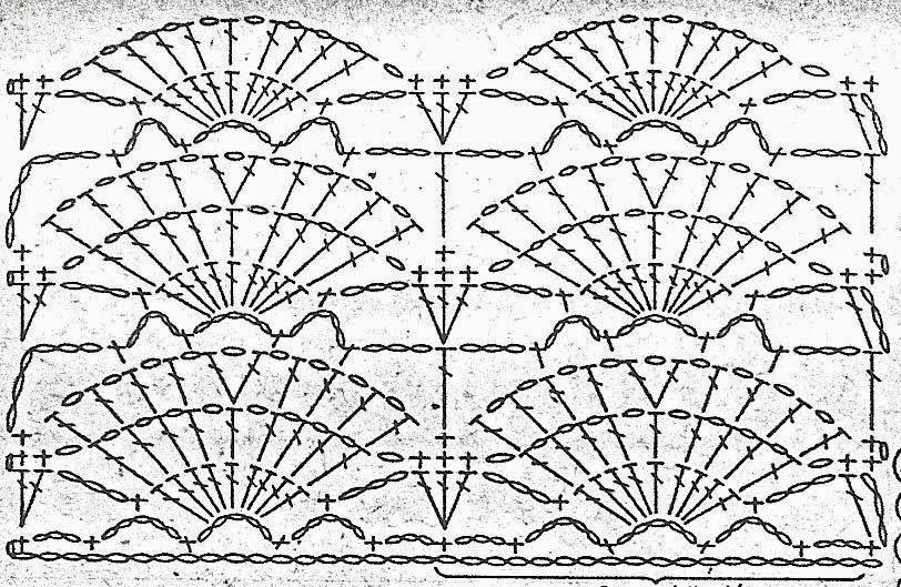 Схема вязания и описание летней шапочки крючком.Летние шапочка и сумка связаны крючком и украшены вышитыми цветами