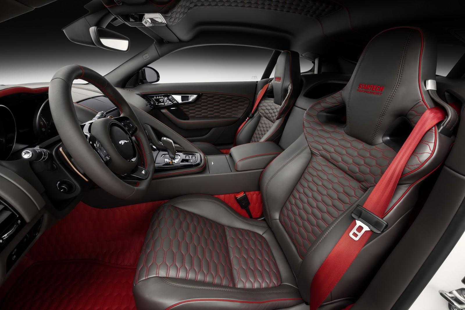 Jaguar F Pace Exterior >> Jaguar F-Type Coupe Tries On A Startech Outfit For Geneva
