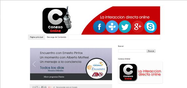 Conexo radio online