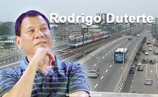 Duterte's plan to ease Metro Manila's transportation woes