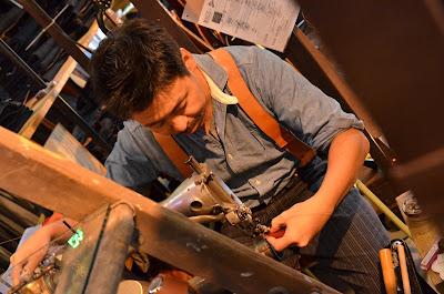 大野楽器オリジナル 本革ギターストラップ