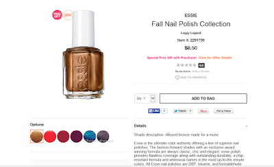 Department: Beauty | Essie Fall Nail Collection