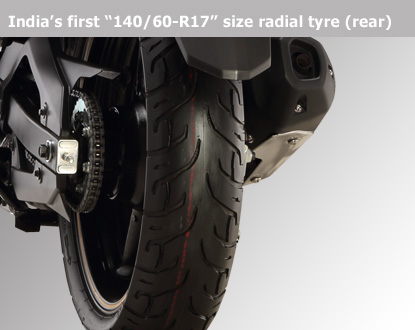 Yamaha bikes solutions tubeless rear tyre problems for Yamaha fz back tyre price