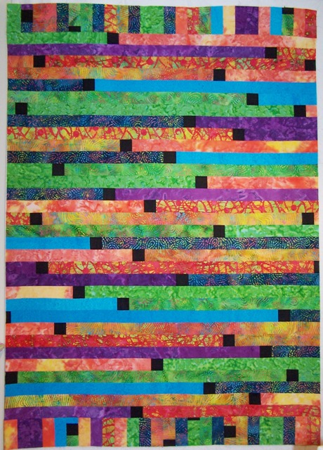 Quilt Pattern Jelly Roll Race : Mary s Quilting Notes: Jelly Roll Race Top-modified