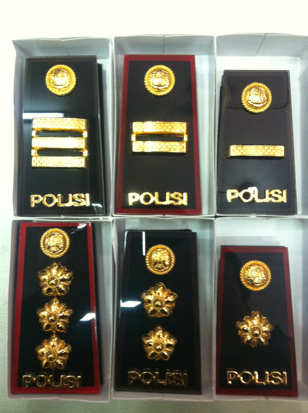 Urutan Pangkat POLRI/POLISI