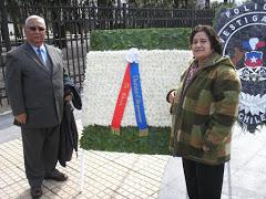 Audito Gavilán y Thala Rojas (Q.E.P.D.) Dos socios colaboradores que partieron el año 2017